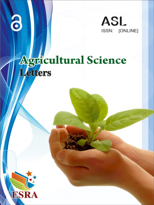 Agricultural Science Letters