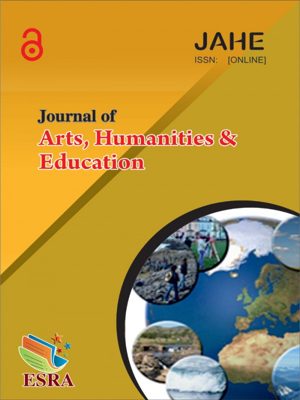 Journal of Arts, Humanities and Education