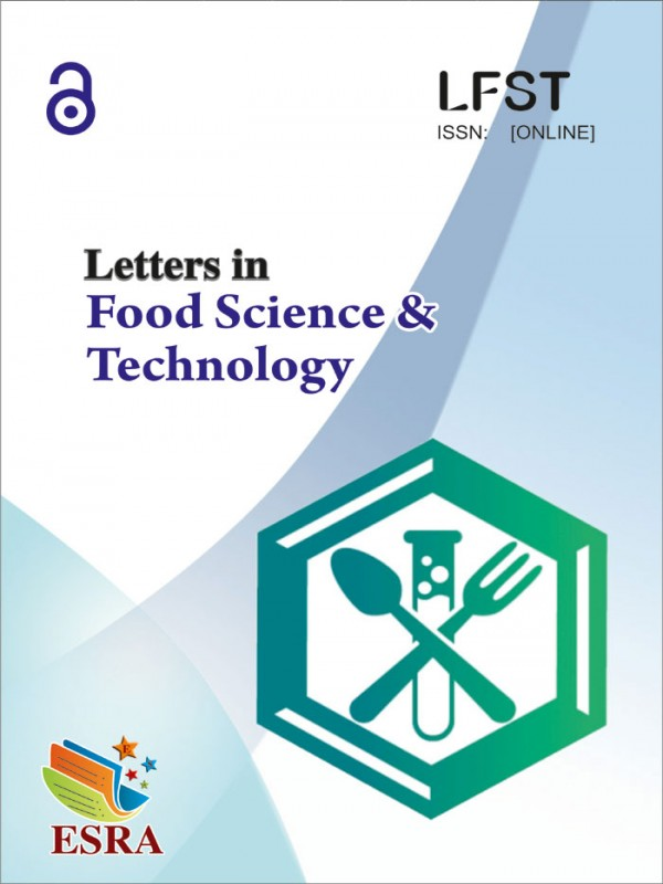 Letters in Food Science and Technology